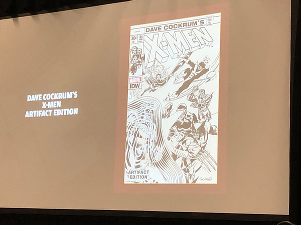 IDW Artist's Edition Wondercon Panel