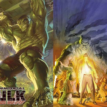 The Immortal Alex Ross Exclusives at San Diego Comic-Con 2019