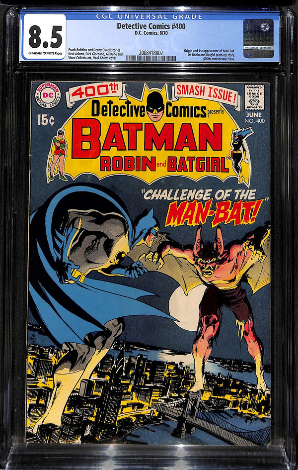 Man-Bat, Detective Comics #400, and What Really Ended The Silver Age