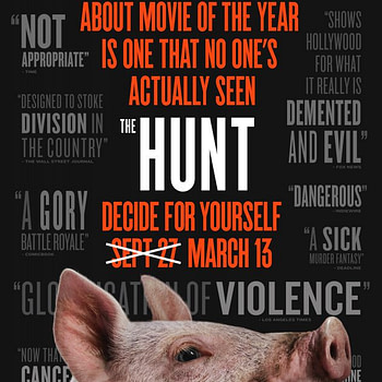 "Universal's Back into ""The Hunt"", New Trailer, Poster"
