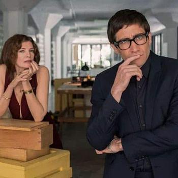 Velvet Buzzsaw - Rene Russo and Jake Gyllenhaal