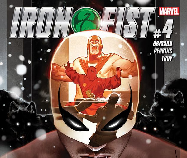Iron Fist #4 Review