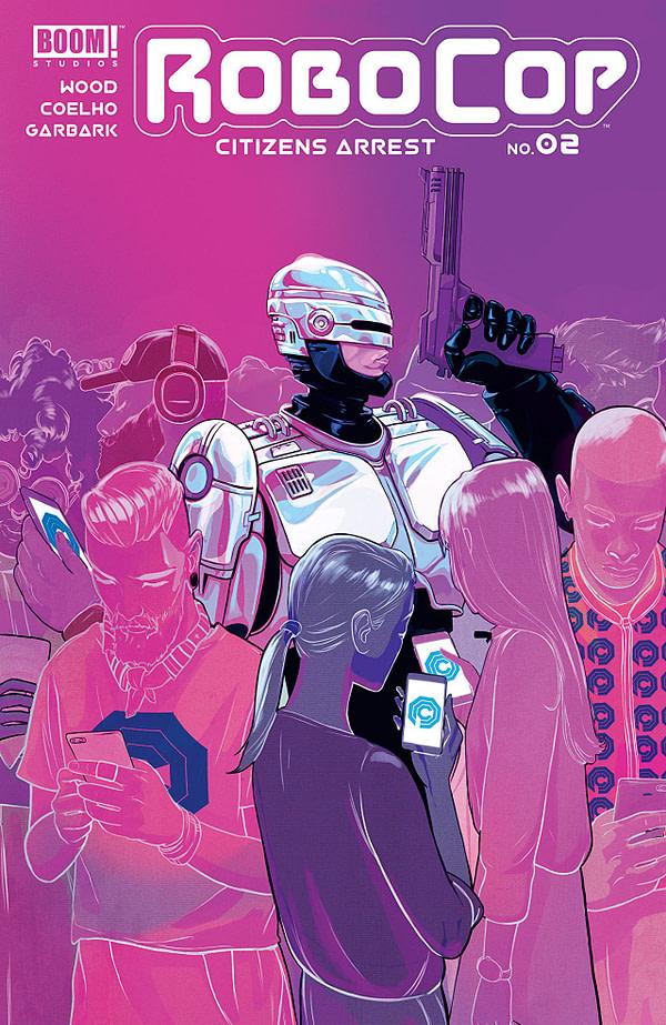 Robocop: Citizen's Arrest #2 cover by Nimit Malavia