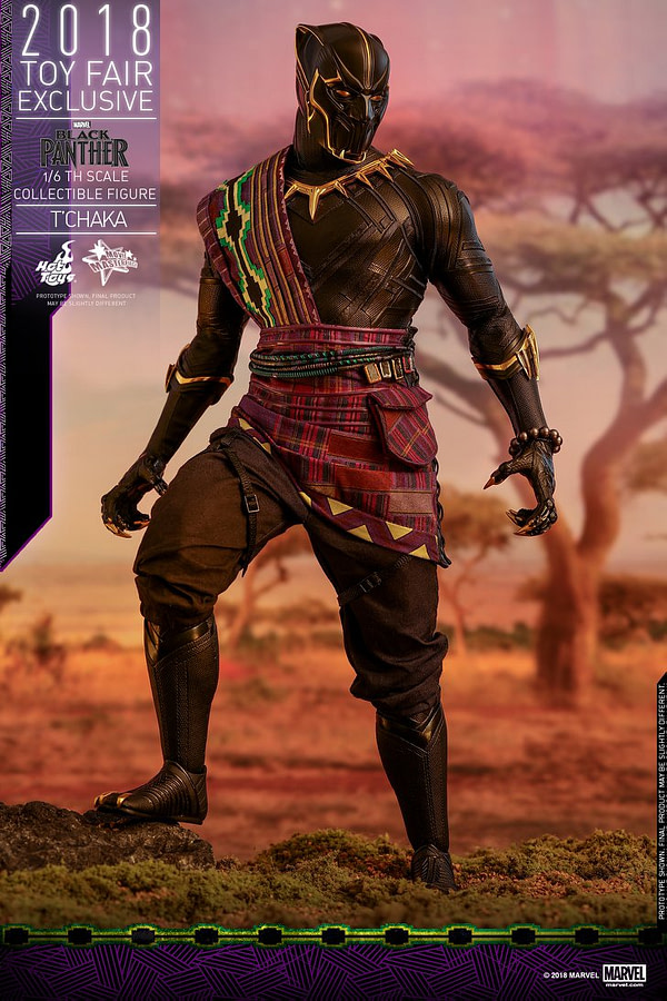 Hot Toys T'Chaka Black Panther 2