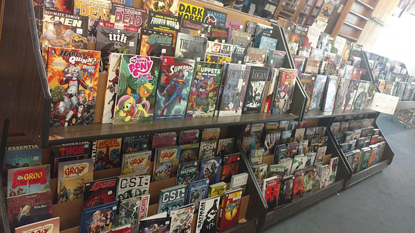 Oregon's Oldest Comics Store Emerald City Comics to Close, Merge With Nostalgia Collectibles