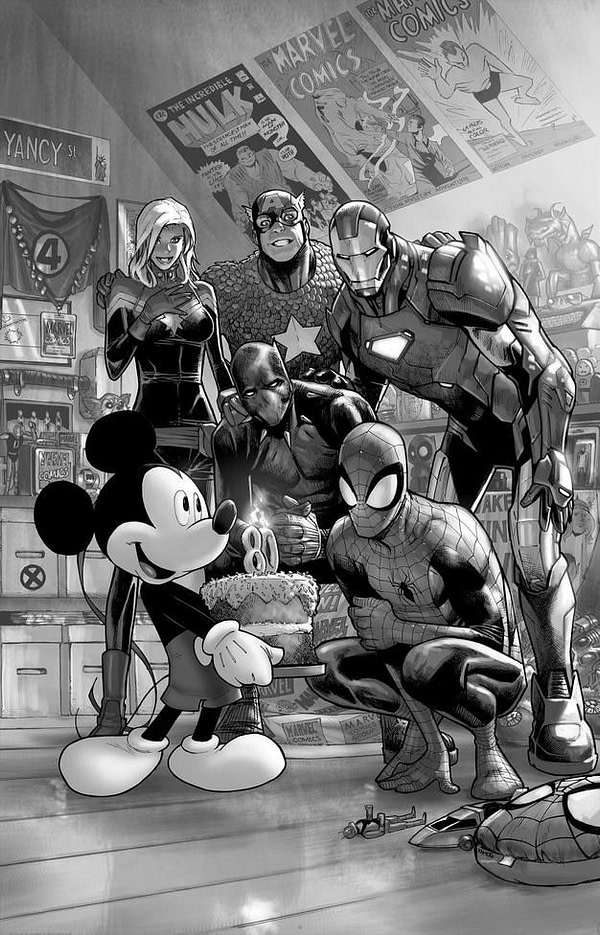 There's an Even Rarer D23 Marvel Comics #1000 Variant Out There - Somewhere...