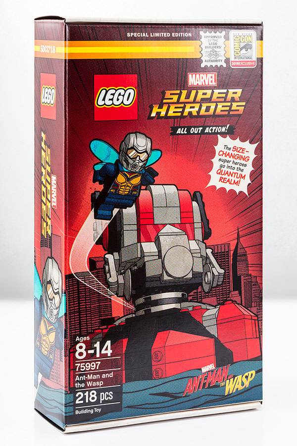 Ant-Man and The Wasp LEGO SDCC Exclusive 2