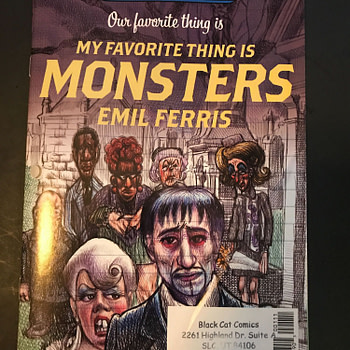 BC FCBD Roundup: Our Favorite Thing is My Favorite Things is Monsters