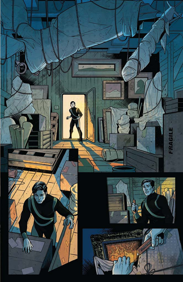 James Bond #4 Extended Preview