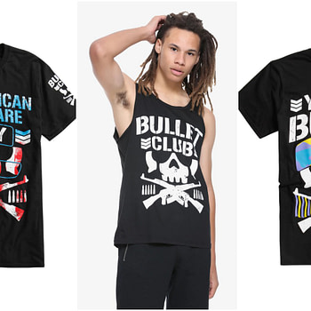 all in hot topic merchandise
