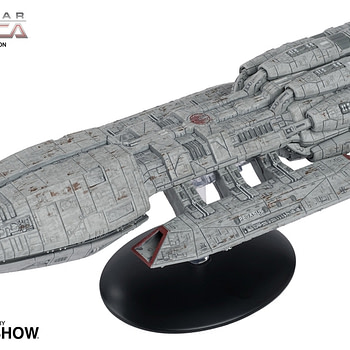 """Battlestar Galactica"" Ships Get Collectible Statues from Eaglemoss"