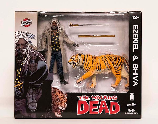 Walking Dead Ezekiel and Shiva Two Pack NYCC exclusive