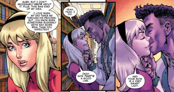 Meet Gwen Stacy's New (Old) Boyfriend - Gwen Stacy #1 [SPOILERS]