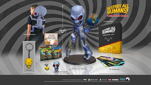 """THQ Reveals The """"Destroy All Humans!"""" Special Editions"""