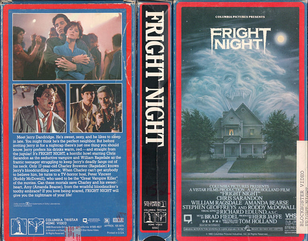 Fright Night VHS