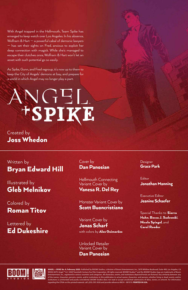 One Good Crossover Event Deserves Another in Angel and Spike #9 [Preview]