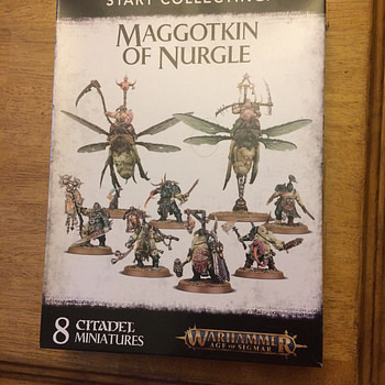 "Review: Games Workshop's ""Start Collecting! Maggotkin of Nurgle"" Box"
