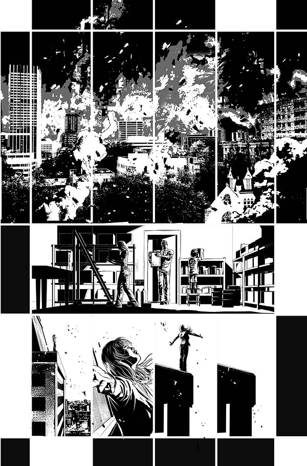 JMS Launches The Resistance With Mike Deodato at AWA