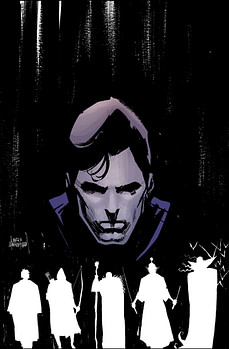 Five Ghosts 1 cover