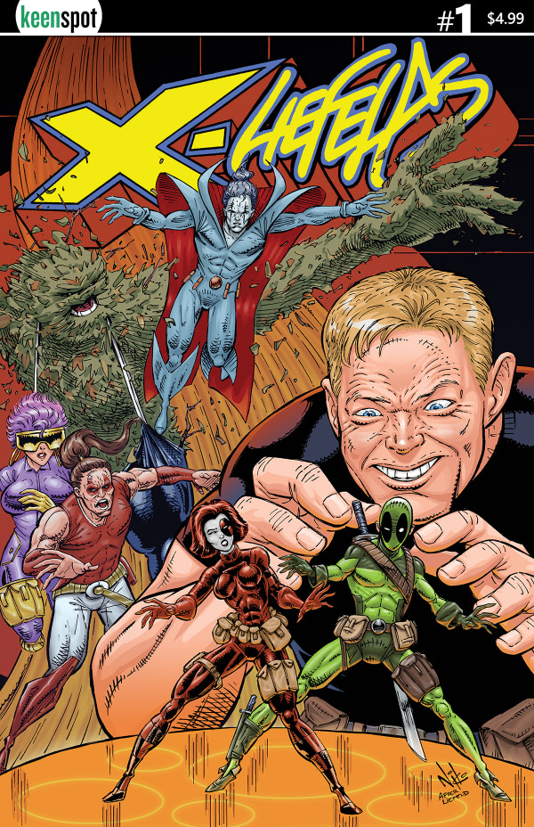 X-Liefelds #1 Gets a Surprise Crossover in Keenspot Spotlight