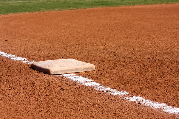 Baseball Diamond Third Base -- David Lee/Shutterstock.com