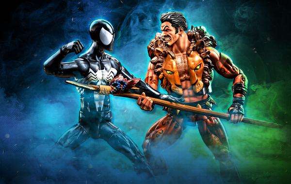 Marvel Legends Series 6-inch Kraven & Spider-Man 2-Pack