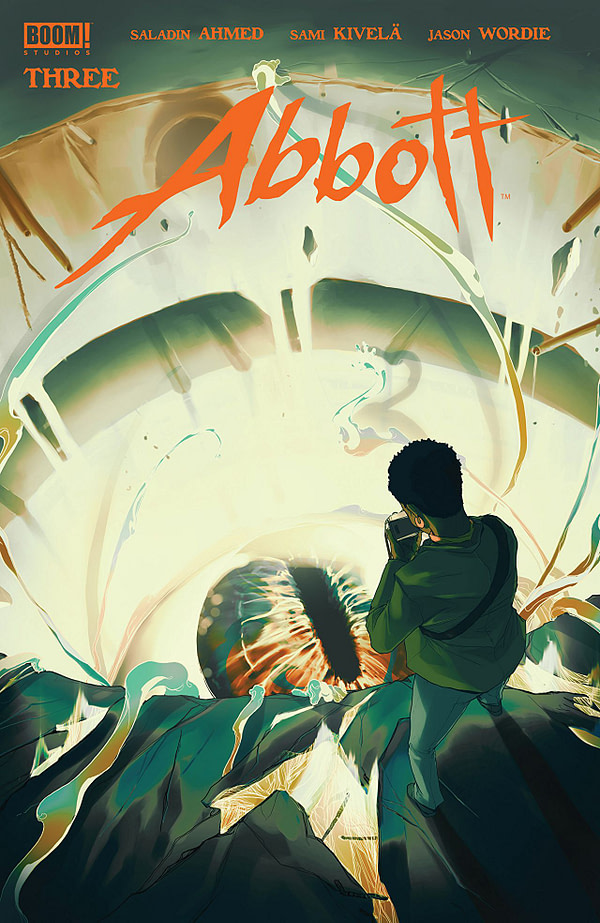 Abbott #3 cover by Taj Tenfold