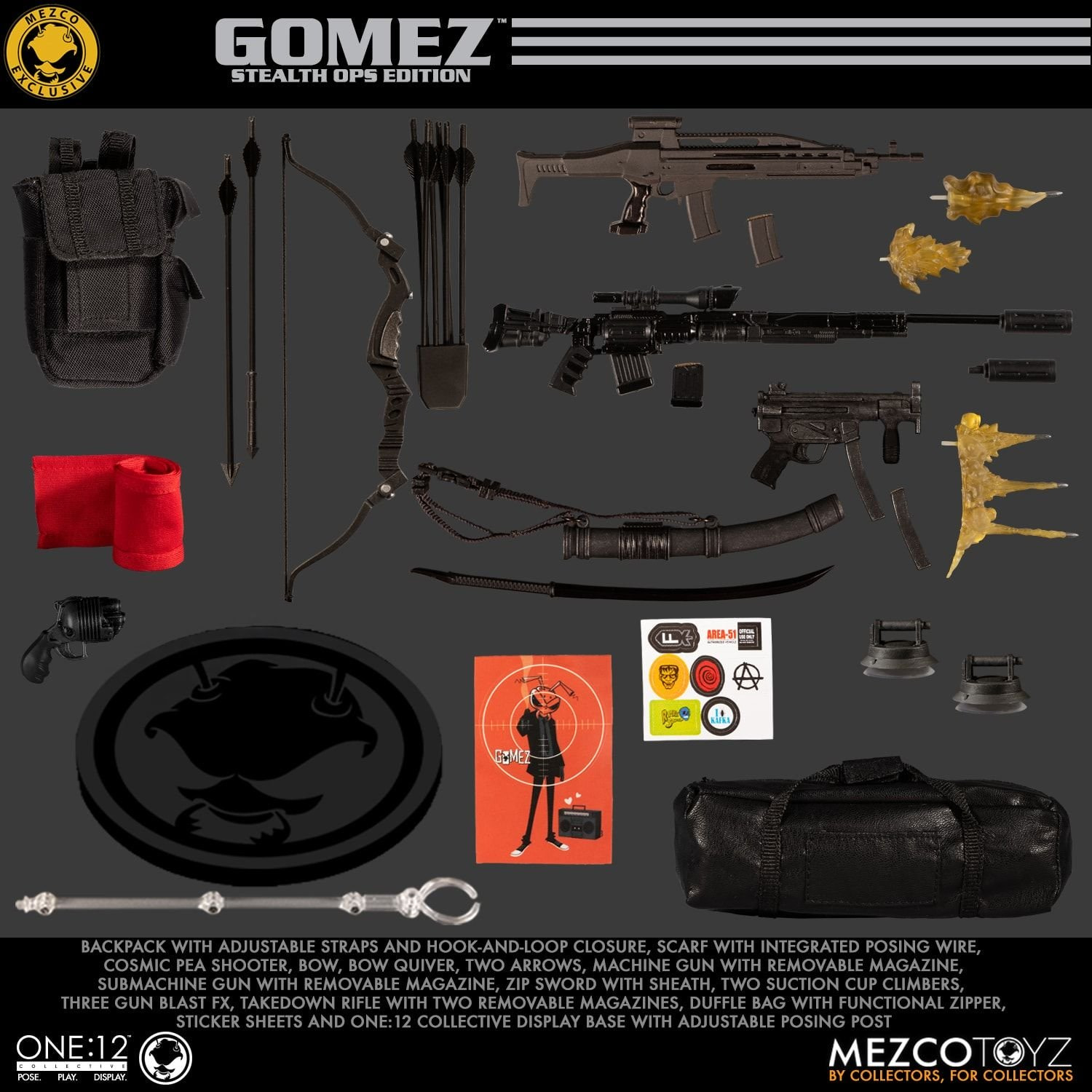 My New Collecting Obsession: Mezco Toyz Gomez