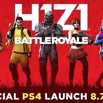h1z1 ps4 battle royale launch