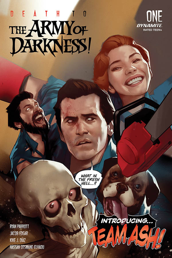 League Of Extraordinary Ash Williams in Death To The Army Of Darkness Comic