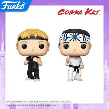 """Funko Pop New York Toy Fair Reveals - """"Cobra Kai"""" and """"Magnum P.I."""""""