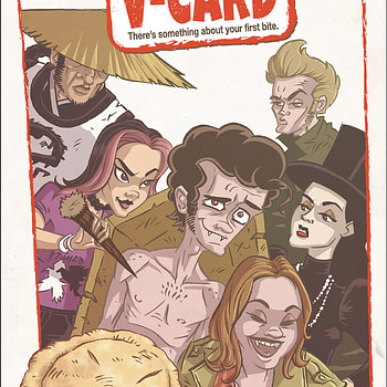 """What if American Pie Had More Vampires in It? """"The V-Card"""" Comes to Comic Stores in Antarctic Press December 2019"""