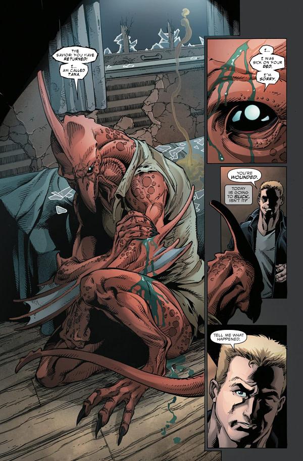 Venom #156 art by Mark Bagley, John Dell, Scott Hanna, and Dono Sanchez-Almara