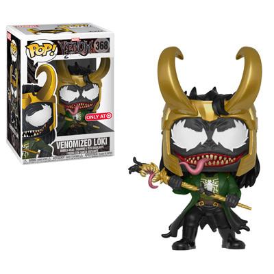 Funko Marvel Venom loki Pop
