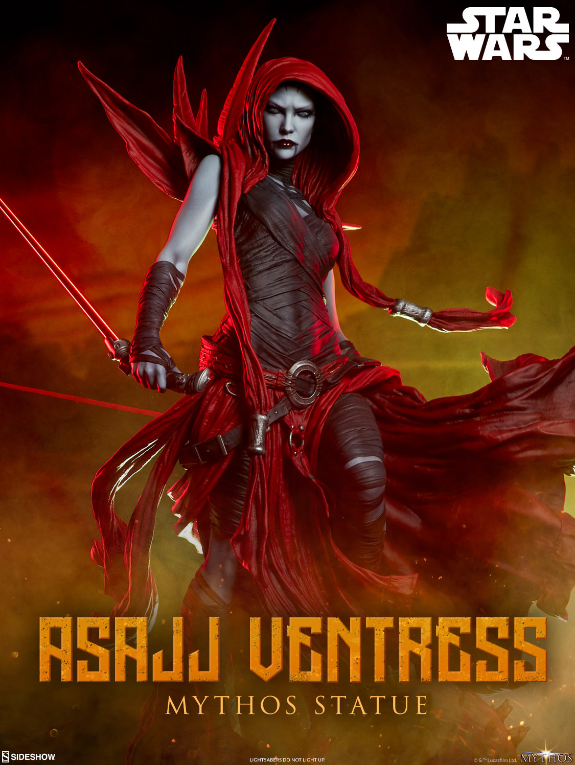 Asajj Ventress Is Back with a New Sideshow Collectibles Statue [First Look]