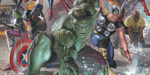 Alternate cover to Marvel Legacy #1 by Alex Ross