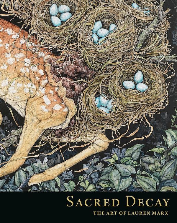 Sacred Decay: Dark Horse to Publish Lauren Marx Art Book