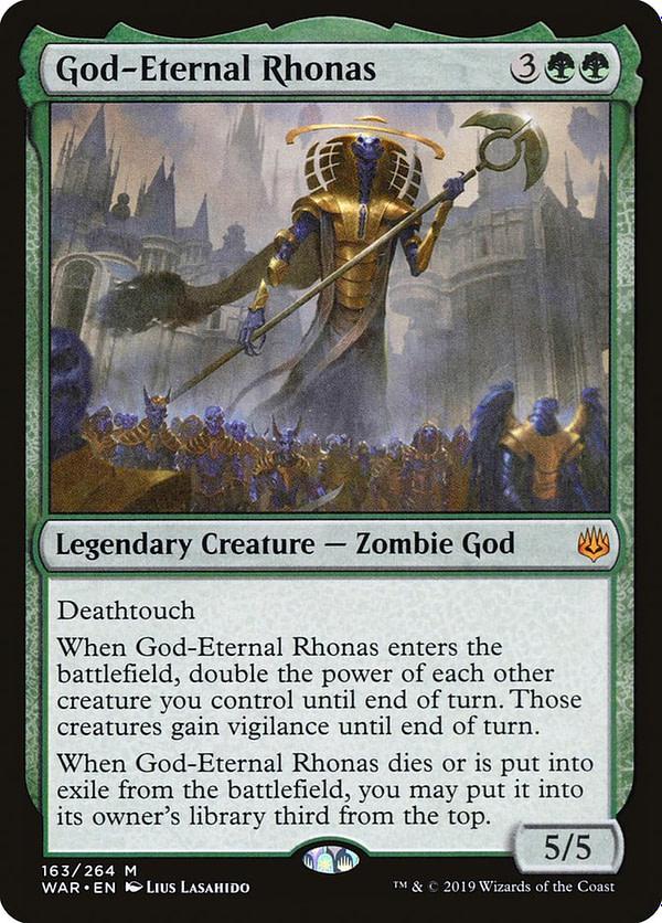 """God-Eternal Rhonas"" Deck Tech - ""Magic: The Gathering"""