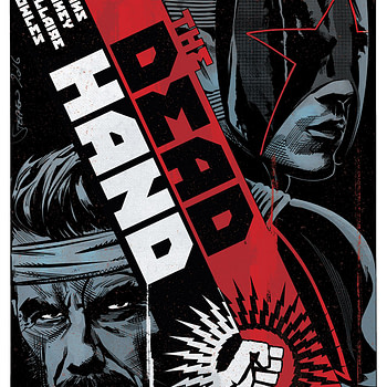 The Dead Hand #5 cover by Stephen Mooney and Jordie Bellaire
