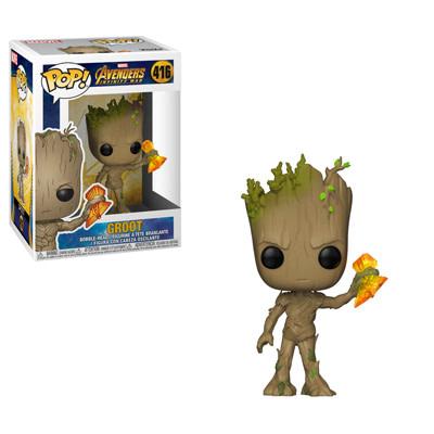 Funko Marvel Infinity War Groot with Stormbreaker