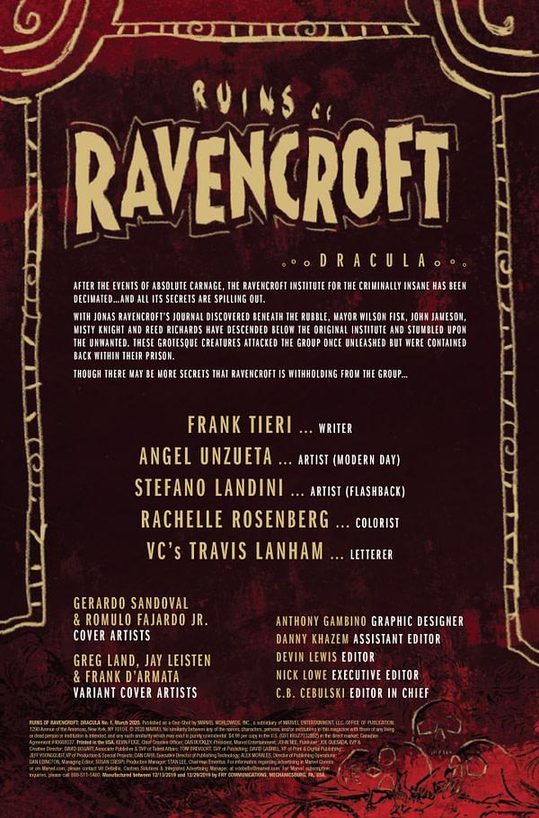 Ruins of Ravencroft: Dracula #1 [Preview]