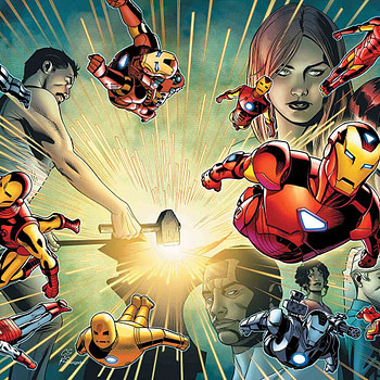 Iron Man #600 cover by Chris Sprouse, Karl Story, and Edgar Delgado