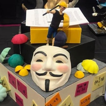 V For Vendetta Cake Withdrawn From Competition After Complaints