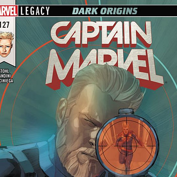 Captain Marvel #127 cover by Phil Noto