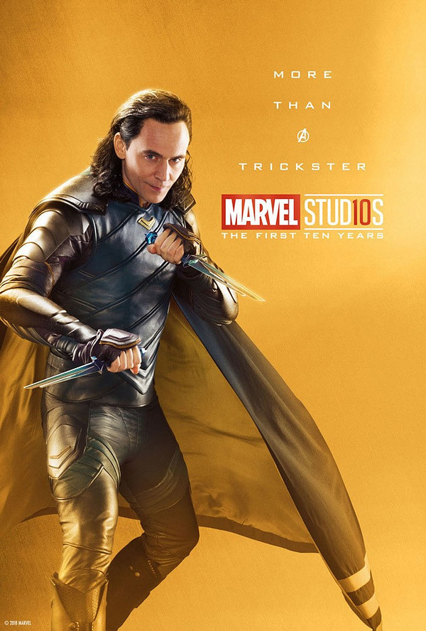 Marvel Studios More Than A Hero Poster Series Loki