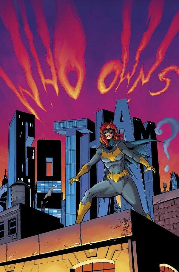 Batgirl #44 Makes a Change - No Longer City Of Bane, But Love-Fuelled Dragons