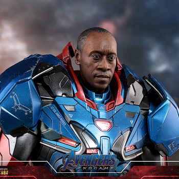 Iron Patriot Hot Toys Figures Gets a Updated New Head