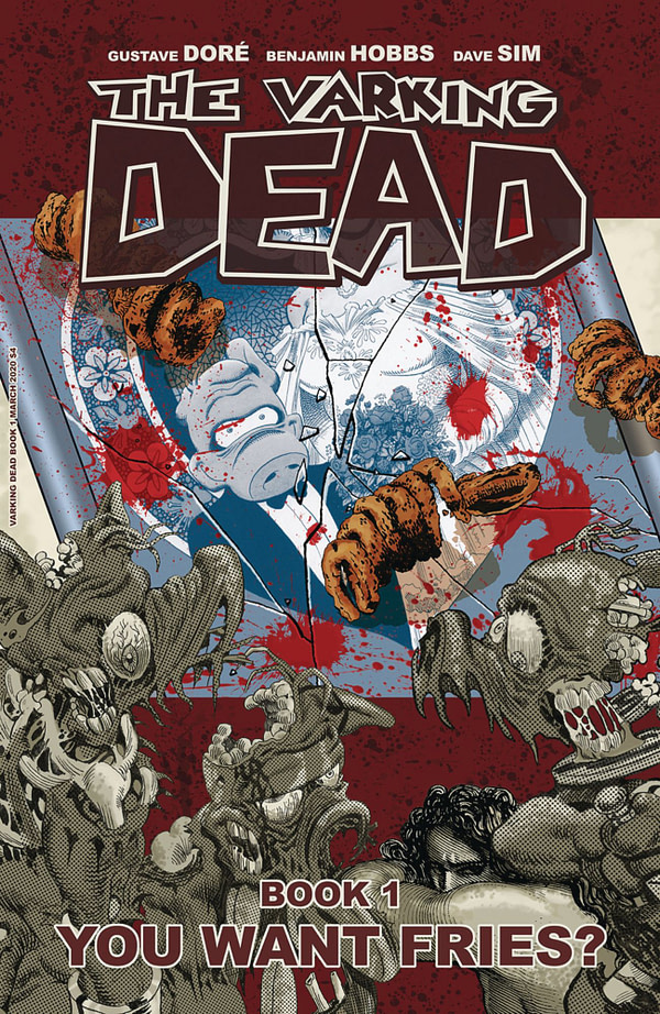 Dave Sim Parodies The Walking Dead as The Varking Dead for Cerebus In Hell - Every Copy Individually Numbered