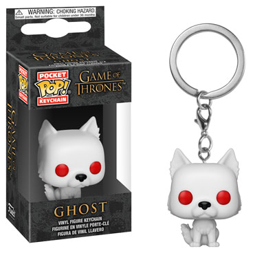 Funko Game of Thrones Ghost Keychain