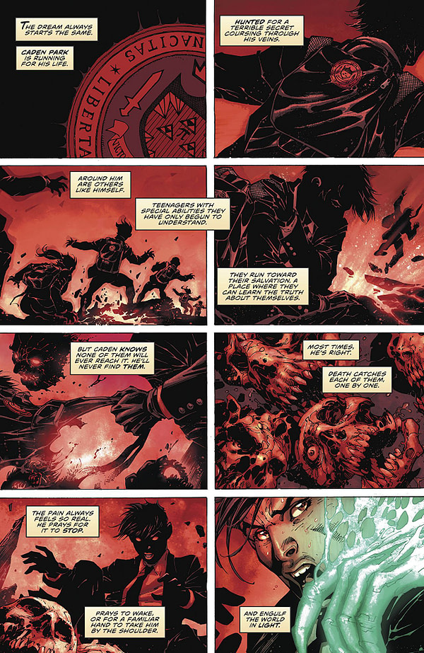 Immortal Men #1 art by Jim Lee, Scott Williams, Richard Friend, Jeremiah Skipper, and Alex Sinclair